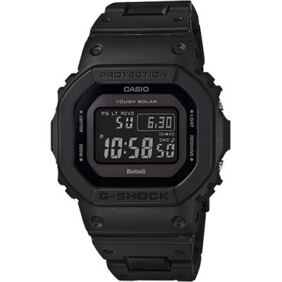 G-SHOCK 帥氣經典黑太陽能藍牙電波運動休閒錶(GW-B5600BC-1B)