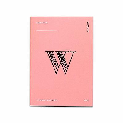 2NUL 個性週計畫本-粉紅W