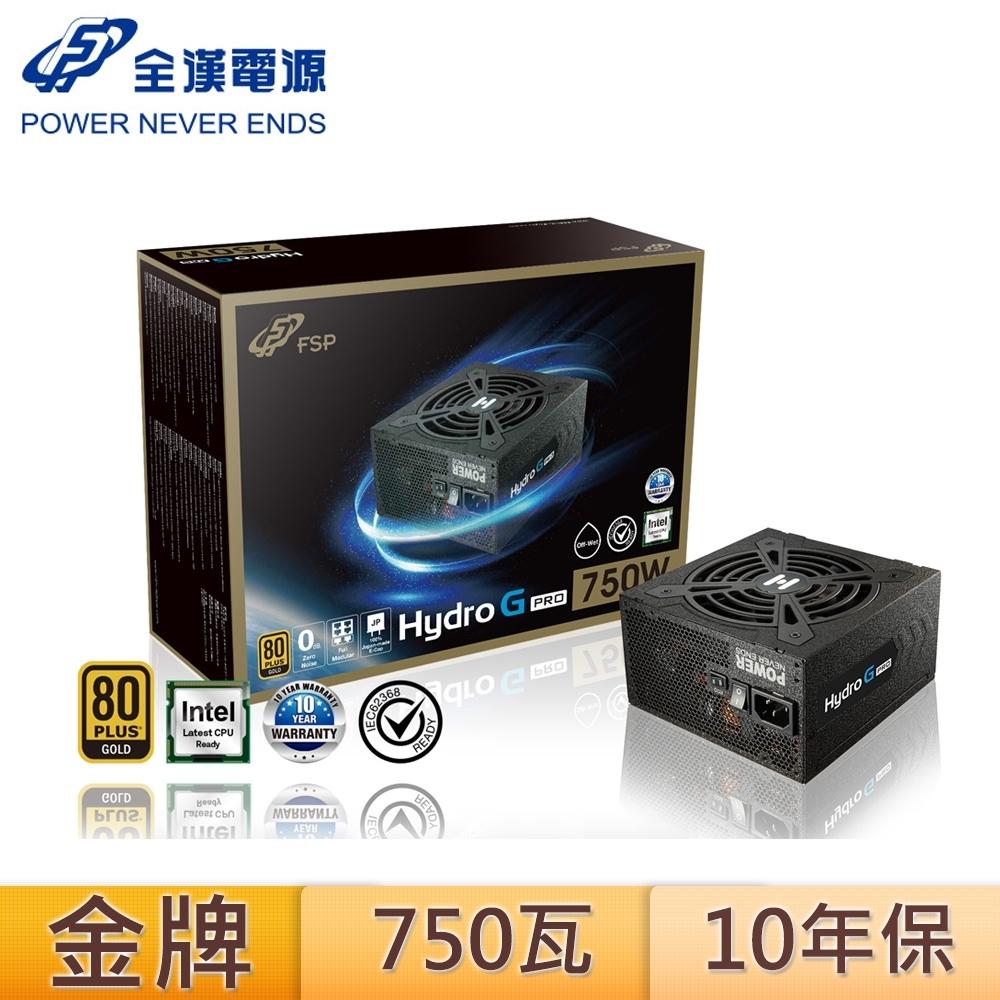 FSP 全漢 HYDRO G PRO 750 750W 十年保固 電源供應器
