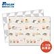 【PARKLON】韓國帕龍無毒地墊 - 雙面包邊1.5CM-幾何三隻小豬 product thumbnail 1