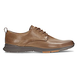 Clarks Tynamo Walk 男正裝皮鞋 咖啡