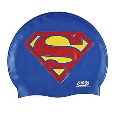 ZOGGS - 超人Logo矽膠泳帽