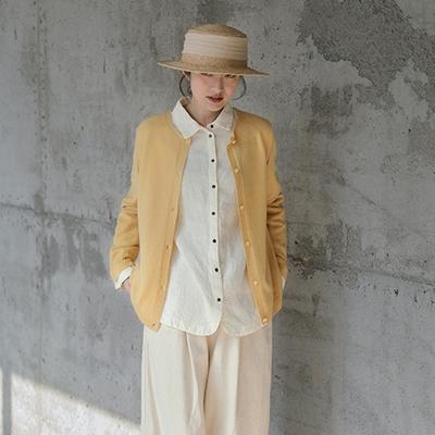 100%澳洲美利奴羊毛針織衫毛衣開衫上衣-設計所在
