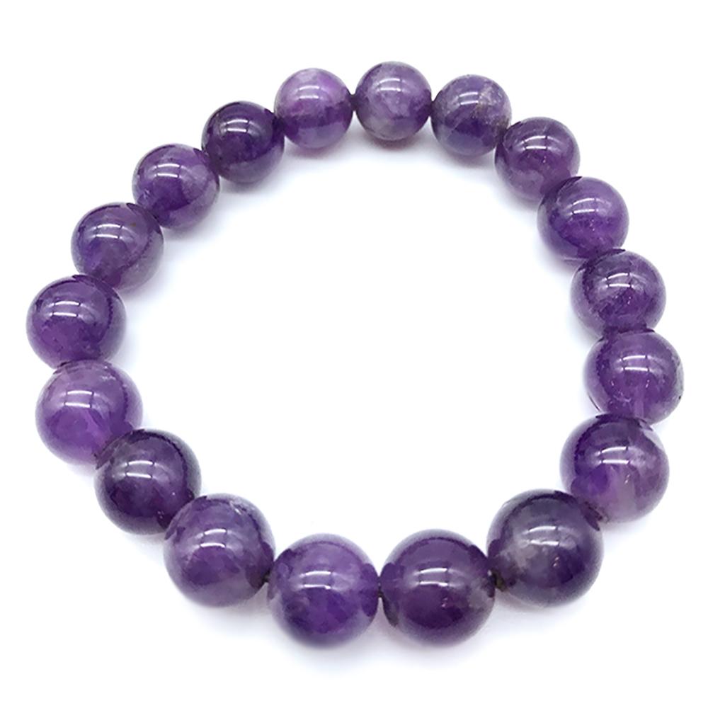 Hera 赫拉 特選巴西紫水晶手珠(10mm)