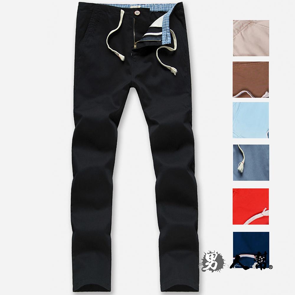 男人幫K0572 高磅硬挺休閒寬鬆直筒美式休閒褲