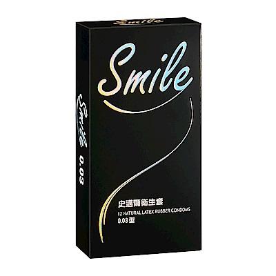 SMILE史邁爾 衛生套保險套-003(12入/盒)
