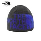 The North Face北面男女款藍色毛帽 AKNDHY1