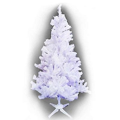 摩達客 豪華型4尺(120cm)夢幻白色聖誕樹(不含飾品不含燈)