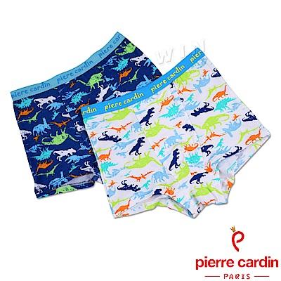 皮爾卡登 男兒童恐龍家族平口褲-混色4件組(137002-1)
