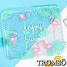 TROMSO北歐夏日沁涼冰墊-C叢林火鶴鳥
