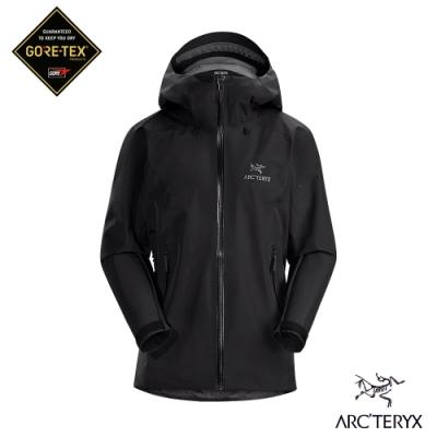 Arcteryx 始祖鳥 女 GORE-TEX Beta LT 防水外套 黑