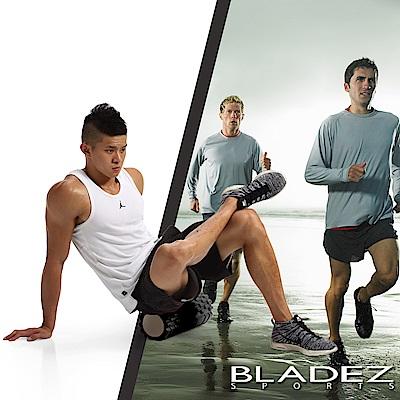 【BLADEZ】狼牙棒空心瑜伽滾筒-黑色