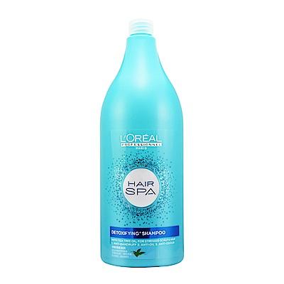 *LOREAL萊雅 Hair SPA茶樹清新洗髮精1500ml