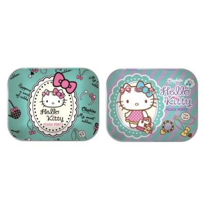 巧趣多Kitty無糖薄荷錠-水蜜桃口味 14g(二款隨機出貨)