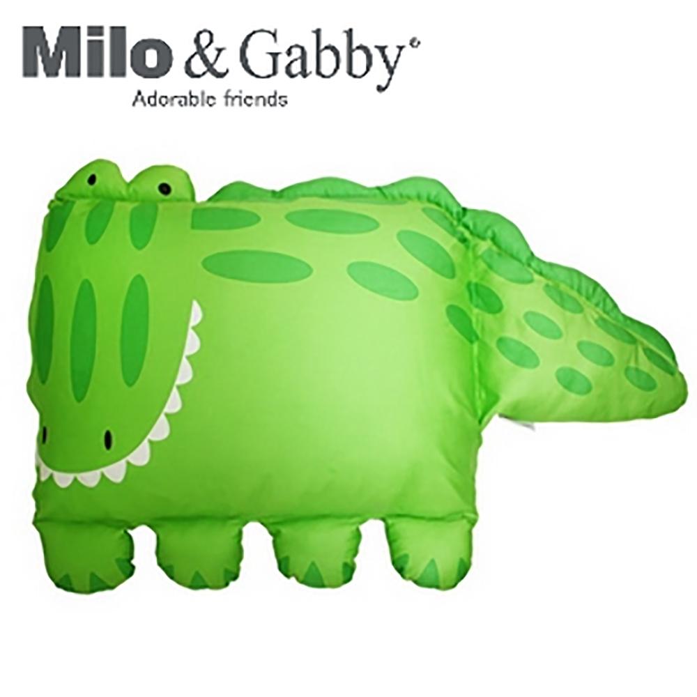 Milo&Gabby 動物好朋友-大枕頭套(ALBERT鱷魚)