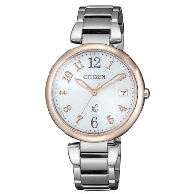 CITIZEN XC 女神風采光動能時尚腕錶EO1195-51A