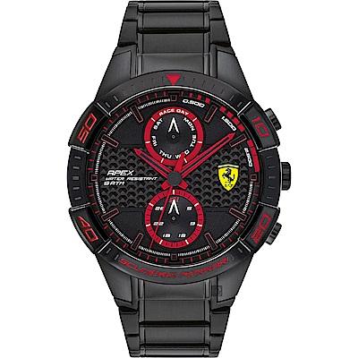 Scuderia Ferrari 法拉利 APEX日曆手錶(FA0830635)-44mm