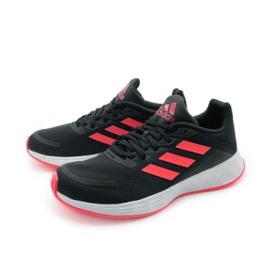 adidas 大童 慢跑鞋 訓練 運動鞋 童鞋 黑紅 FX7301 DURAMO SL