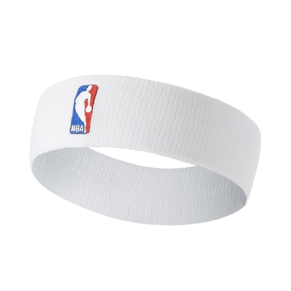 Nike 頭帶 Nike NBA Headband 男女款 Dri-FIT 吸濕排汗 透氣 運動穿搭 白 藍 NKN02100OS