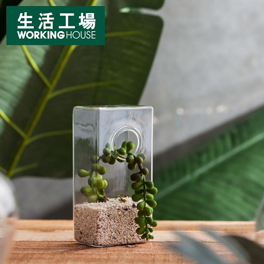 【生活工場】淨透微光燈工長方型花器
