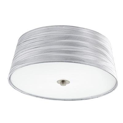 EGLO歐風燈飾 簡約風圓形玻璃吸頂燈(不含燈泡)