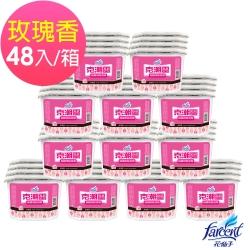 克潮靈 櫥櫃用除濕劑-玫瑰香(4入/組,12組/箱~箱購)