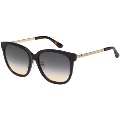 Moschino 方形 小熊 太陽眼鏡(琥珀色)