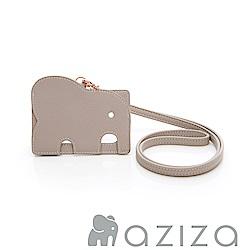 aziza 小象證件套-灰