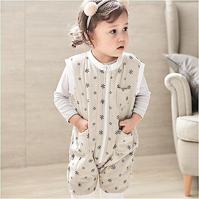 baby童衣 鋪棉拉鍊背心造型連身衣 82047