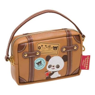 巧克貓熊行李箱系列數位收納包San-X