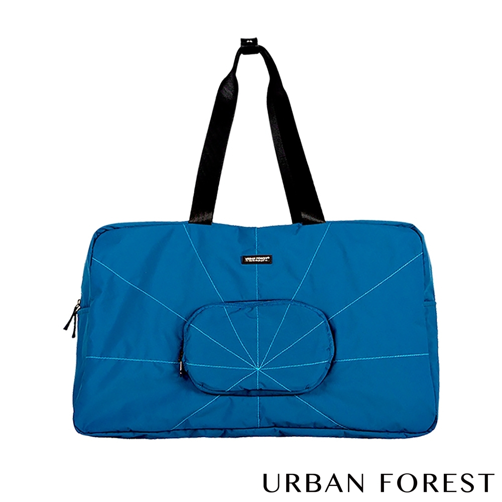URBAN FOREST都市之森 樹-摺疊旅行包/旅行袋 深海藍