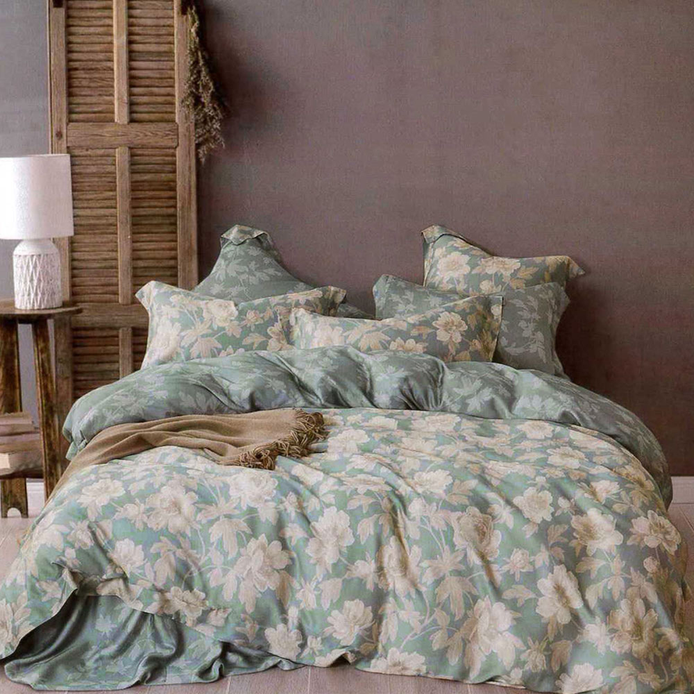 Lily Royal 60支頂級天絲 四件式兩用被床包組 加大 晴語