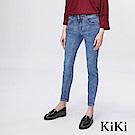 KiKi INLook 淺藍貼腿窄管低腰牛仔褲
