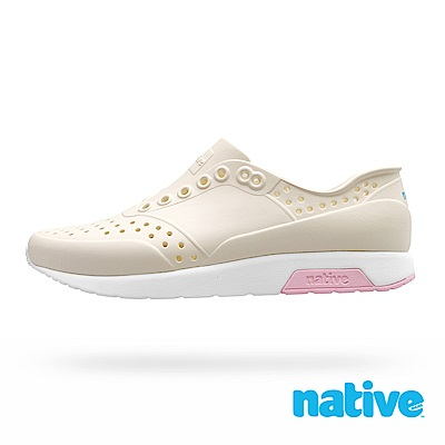 native LENNOX 男/女鞋-象牙白x貝殼白x芭比粉