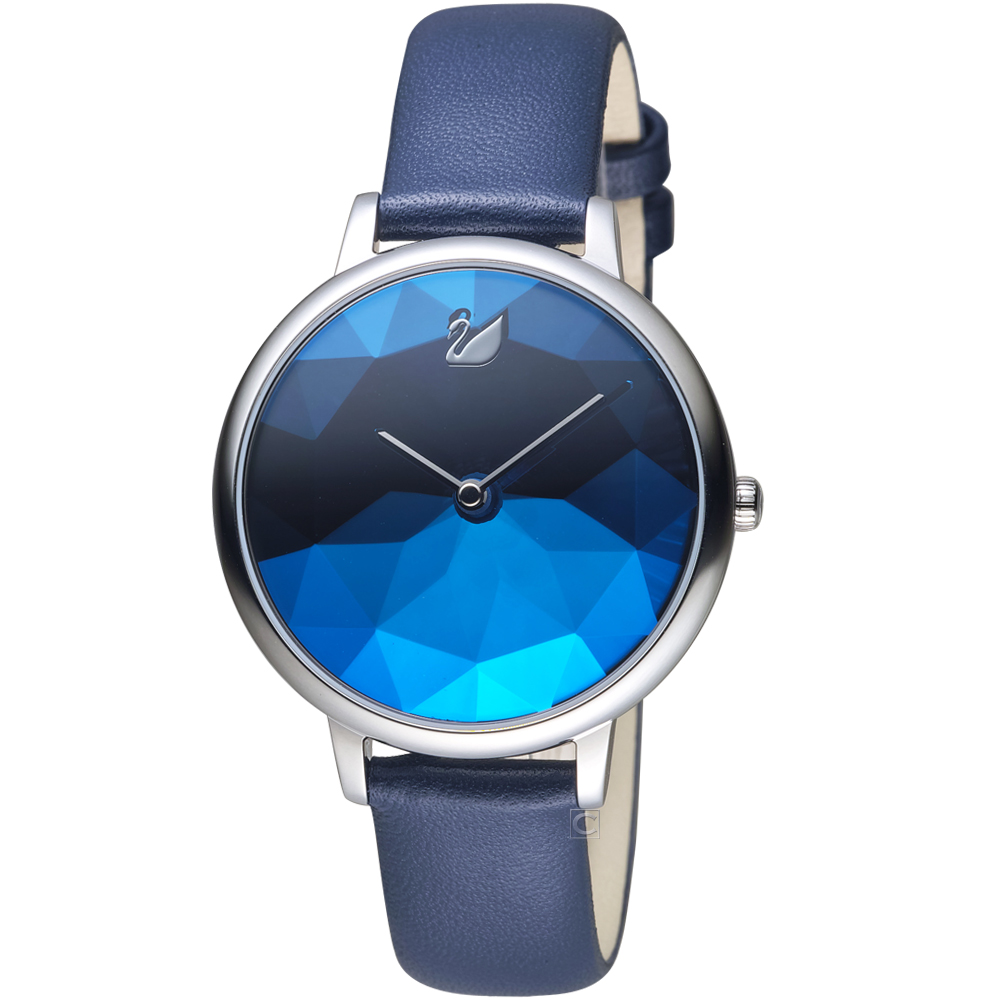 SWAROVSKI施華洛世奇CRYSTAL LAKE嫵媚腕錶(5416006)