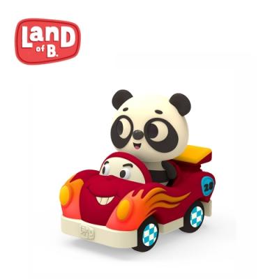 B.Toys 迷你車長-熊貓與飛迪_Land of B.系列