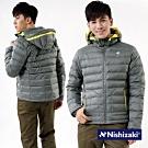 【日本西崎】防風防潑水保暖羽絲絨外套N005深灰