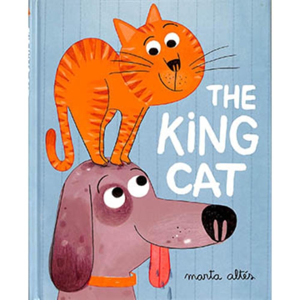 The King Cat 家裡的國王貓精裝繪本