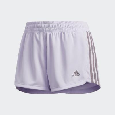 adidas PACER 三條線運動短褲 女 FL2230