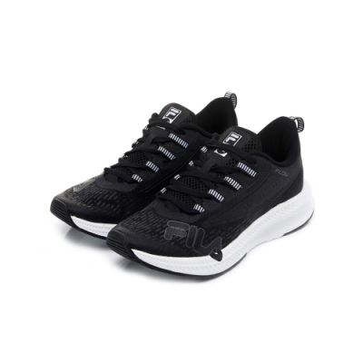 FILA WAVELET ALPHA 中性慢跑鞋-黑 4-J537U-021