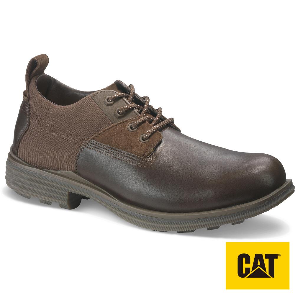 【CAT】EXPLORE 探索者拼接厚底休閒鞋-男(CA722990)