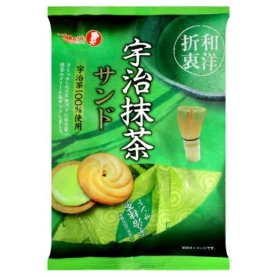 寶製果 宇治抹茶夾心餅乾(85g)