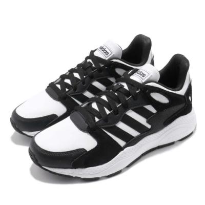 adidas 休閒鞋 Chaos 低筒 運動 女鞋 愛迪達 透氣 舒適 避震 球鞋 穿搭 黑 白