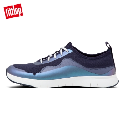 FitFlop BRIANNA KNIT SNEAKERS休閒鞋-女(海藍色)