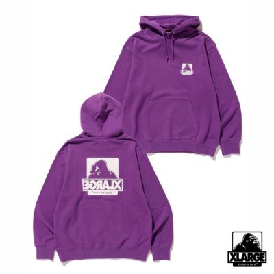 XLARGE BEHIND OG PULLOVER HOODED SWEAT連帽上衣-紫