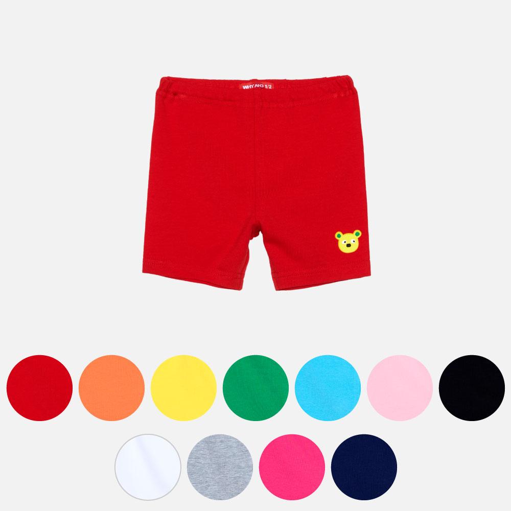 WHY AND 1/2 mini 棉質萊卡緊身短褲 0M~4Y 多色可選