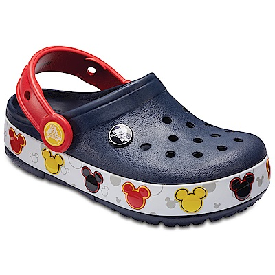 Crocs卡駱馳  趣味學院米奇酷閃小克駱格