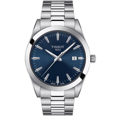 TISSOT天梭 GENTLEMAN紳士系列手錶(T1274101104100)-40mm