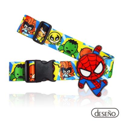 Marvel 漫威英雄立體名牌束帶-蜘蛛人