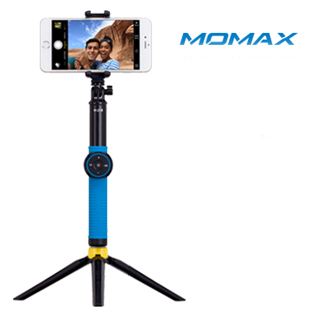 MOMAX Selfie Hero藍牙自拍棒腳架組100cm